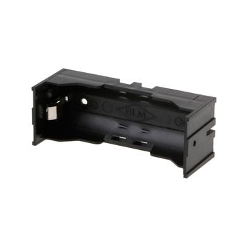 1Pc 26650 uchwyt na baterie pudełko na baterie na baterię litową 26650 3 7V tanie i dobre opinie Black 8x3x3cm 3 15x1 18x1 18 1 pc Chunghop Battery Holder Przechowywanie akumulatora box