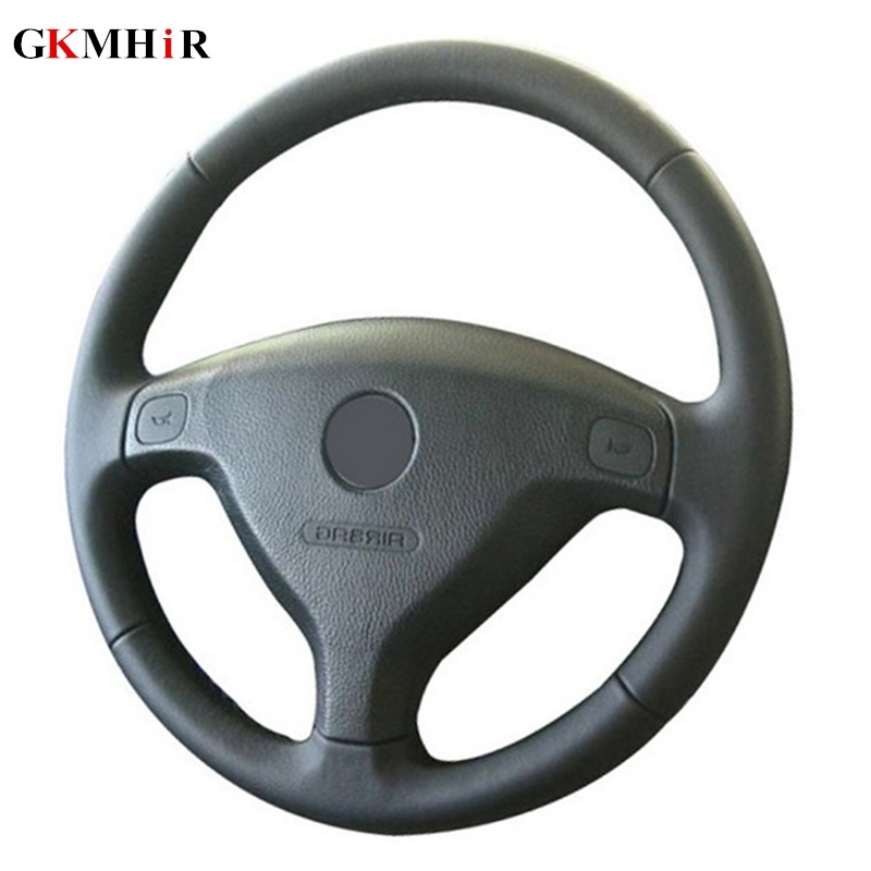 Steering-Wheel-Cover Buick Sail Artificial-Leather Opel Black Zafira A Astra Car  title=