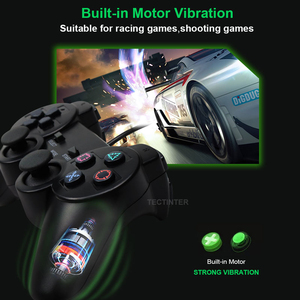 Image 2 - Contrôleur filaire couleur transparente pour manette de jeu PS2 Vibration manette Joypad couleur pour contrôleur Playstation 2