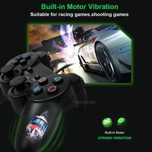 Image 2 - 透明色有線コントローラためPS2振動ジョイスティックゲームパッドジョイパッド色プレイステーション2コントローラ