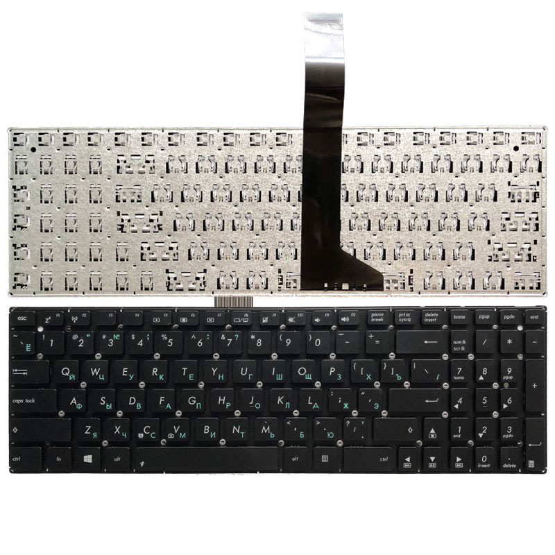 Russian Laptop Keyboard For ASUS X550C X550CA X550CC X550CL X550VC X550ZE X501 X501A X501U X501EI X501XE X501XI X550J RU Black