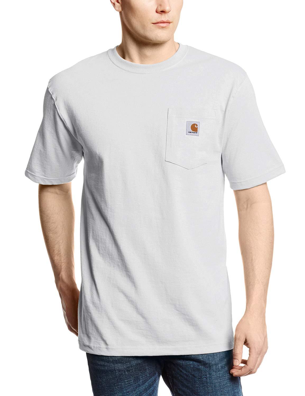 Regular and Big /& Tall Sizes Carhartt Mens Crewneck Pocket Sweatshirt