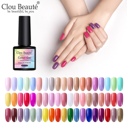 Clou Beaute Nail Gel Polish UV LED Gel Varnish Matte Top Soak Off Gel Lacquer Hybrid Painting Gel Polish Gellak Base Top Coat
