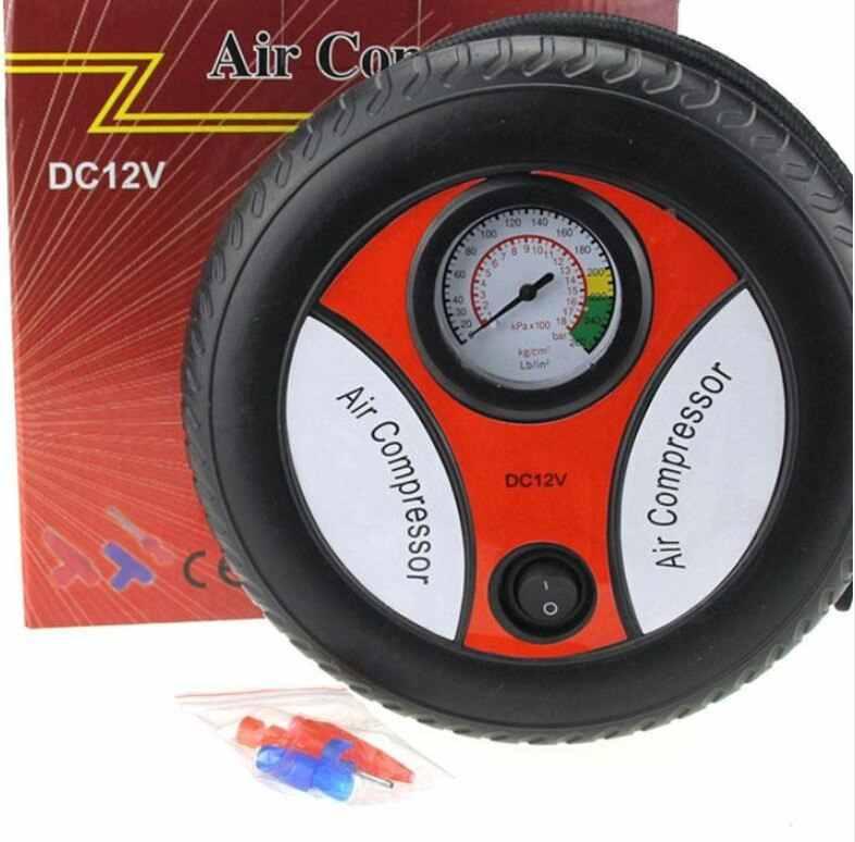 נייד לרכב מדחס אוויר 12v אוטומטי מתנפח משאבות חשמלי צמיג Inflaters 380/540 גדול מנועים 16/19 צילינדרים