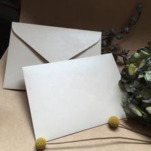 Wysoko spersonalizowany ekskluzywny biznes ślubny 250g gruby jasny szampan perłowy papier brązujący koperta tanie tanio CRANEKEY CN (pochodzenie) customized 250ZG001 Okna koperty Zwykłym papierze Prezent koperty
