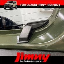 BAJA 2PCS ABS Rear Windshield Heating Wire Protection Demister Cover For 2019 2020 2021 Suzuki Jimny JB64 Sierra JB74w Interior