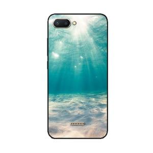 Image 2 - Cover Voor Xiaomi Redmi 6A Case Leuke Dier Landschap Gevallen Voor Xiaomi Redmi 7A 8A 5A Redmi 8 7 6 pro Bumper Phone Case Tassen