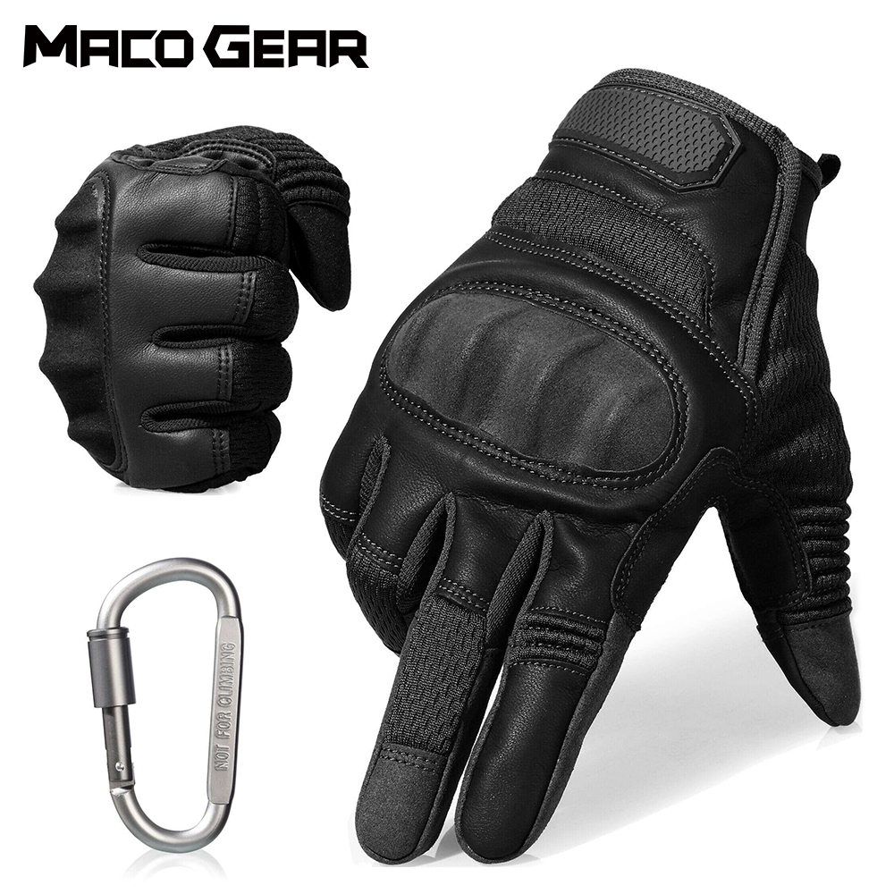 Touch Screen Hard Knuckle Tactical Glove Army Military Combat Airsoft Outdoor Shooting Paintball Hunting Full Finger Men Glove