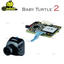 New arrived Caddx babyTurtle V2 1080p 60fps FOV 155 Degree Super WDR Mini HD FPV Camera OSD Mic for RC Drone