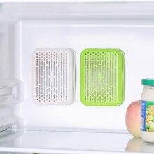 Холодильник присоска Экономия пространства удаление стерилизации удаление запаха дезодорант коробка сильная Бытовая Кухня активированный уголь