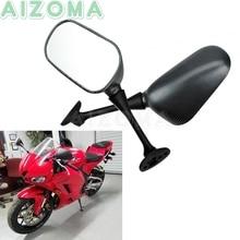 Rearview-Mirror Honda Cbr600rr Motorcycle-Side Cbr-600/1000-Rr Sport for 2pcs Carbon-Fiber