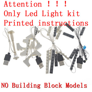 Image 2 - MTELE LED Light Up Kit For Creator Brick Green Bank Lighting Set Compatible With 10251 (Not Include Model)