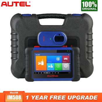 цена на Autel MaxiIM IM508 OBD2 scania Car Diagnostic Auto Scanner Engine Tool ECU XP200 Key Programming professional automotive scanner