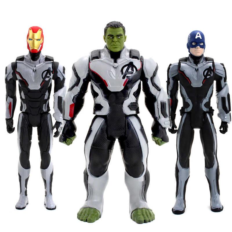 30cm מארוול נוקמי ארס קפטן אמריקה איש ברזל PVC פעולה איור אסיפה דגם צעצוע לילדים ילדים של צעצועים