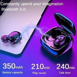 Image 3 - XG12 TWS סטריאו אלחוטי אוזניות Bluetooth 5.0 אוזניות HIFI קול ספורט אוזניות דיבורית משחקי אוזניות עם מיקרופון עבור טלפון