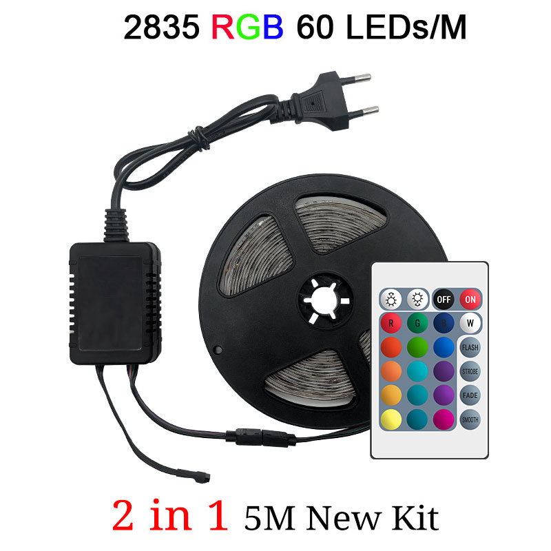 2835 60LEDs 1M 2in1