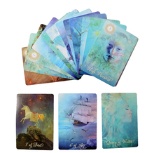 Hot Sell Modern Tarot Cards.78 Cards Set .  Mystical Divination Oracle Cards Personal Use Tarot Deck GOOD Beautiful Cards