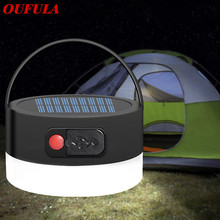 Solar Panel Powered Portable Led Lights  Rechargeable For camping Lamps Tent  Night Fishing Light Hiking Travel Tent Lights