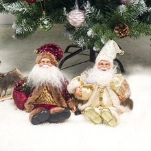 Get more info on the New Christmas Santa Claus Sitting Or Standing Doll Christmas Decorations For Home Navidad Gift To Kids Christmas Tree DecorCM