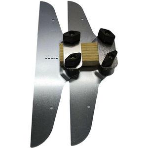 Image 2 - Conjunto de modelos de piso de escada, modelo de substituição passos risers braçadeira placas ferramenta de mão