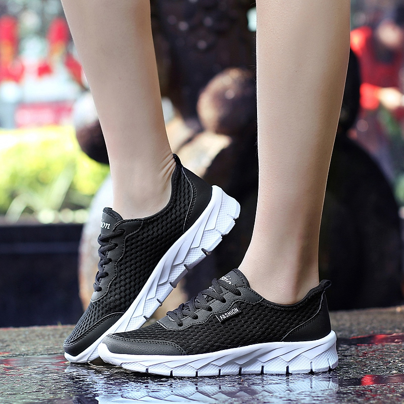 Couple Running Shoes Breathable Outdoor Male Sports Shoes Lightweight Sneakers Women Comfortable Athletic Training Footwear Running Shoes    - AliExpress