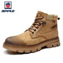 Apple/Новинка; Брендовые мужские ботинки на платформе в западном