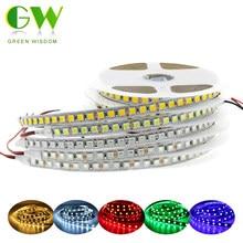 Dc12v led strip light 5054 impermeável flexível led fita 60leds/m 120leds/m mais brilhante do que 5050 3528 12v rgb diodo fita 5 m/lote