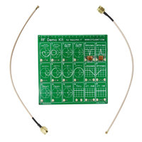 Tool Test Board RF Demo Kit Equipment Vector Network Cable Anaylzer Set Attenuator Accessories Filter For NanoVNA