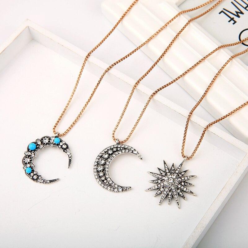 Fashion Crystal Women Bib Choker Chaîne Pendentif Statement Boucles D/'Oreilles Collier Set