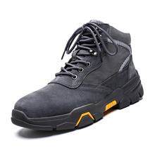 Buy Hiking Boots for Men Rubber Bottom Sole Sports Shoes Durable Breathable Winter Snow Outdoor Boots Male Comfortable Shoe directly from merchant!