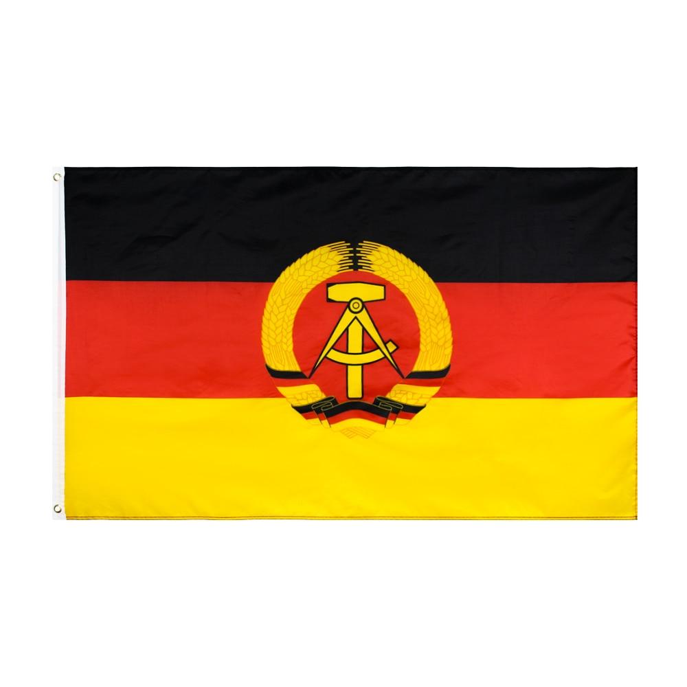 WN 60X90 90X150cm German Democratic Republic GDR East Germany Flag For Decoration