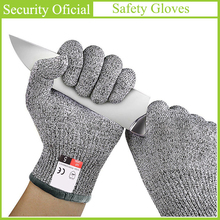 CE EN388 Anti Cut Safety Gloves High Quality Cut Resistant Stab Resistant Self Defense Supplies Kitchen Butcher Work Gloves 2019 anti cut gloves en388 cut resistant level 5 safety cut proof stab resistant self defense supplies kitchen butcher safety gloves