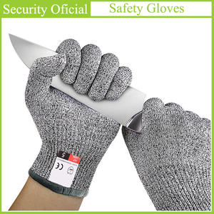 Safety-Gloves Self-Defense-Supplies Cut-Resistant Anti-Cut Butcher Ce-En388 High-Quality