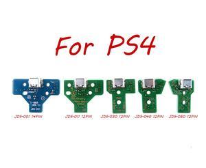 Image 3 - 50pcs JDS 055 050 001 011 030 040 USB พอร์ตชาร์จ Socket Power Charger Board 12PIN สำหรับ Playstation 4 PS4 Pro Controller