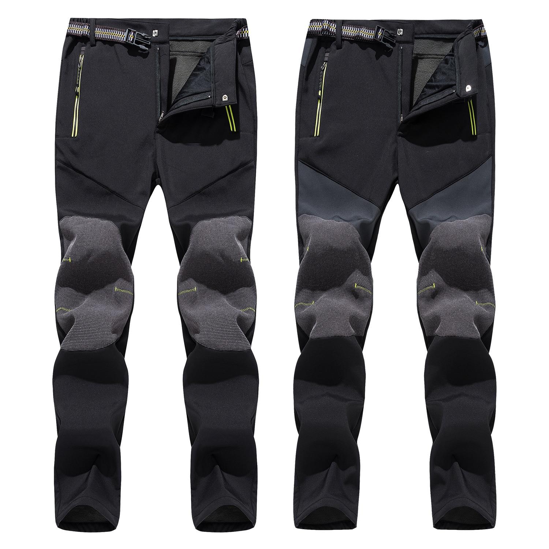 Ski Pants Men  Outdoor High Quality Windproof Waterproof Warm Couple Snow Trousers Winter Ski Snowboard Pants Brand