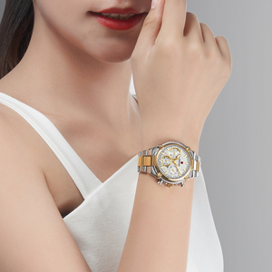 Image 3 - 2020 New Fashion Female Business ladies watch Full Steel Luxury Ladies Wristwatches TOP Quality Brand Design Women Watches 3ATM