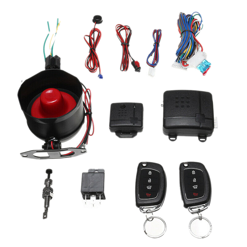 Keyless Car Alarm Entry System Access Central Bluetooth Security Remote Controls