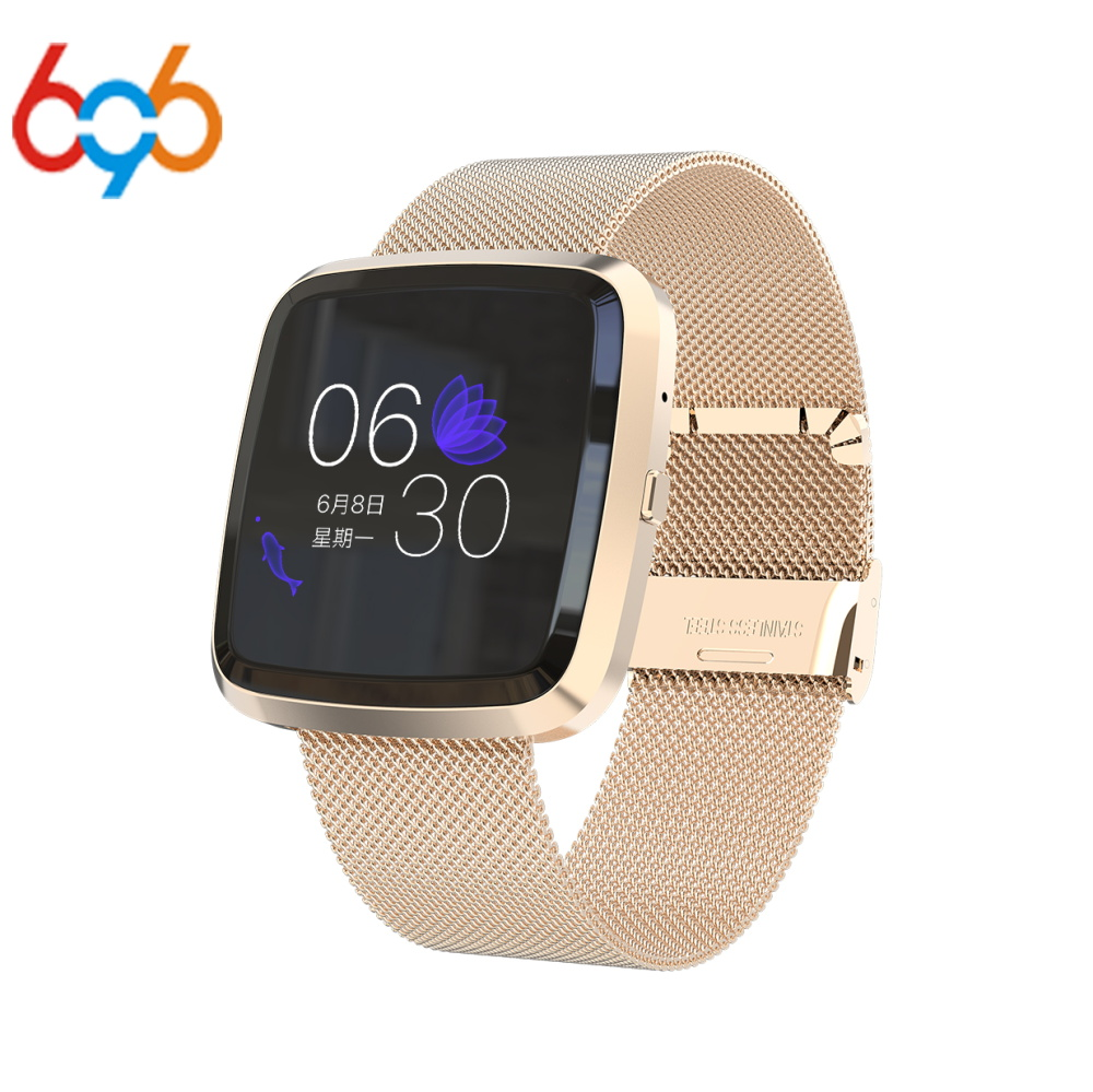 696 Smart Bracelet T2 Fitness Activity Tracker  Blood Pressure Smart Band Message Reminder IP67 Waterproof Heart Rate Monitor