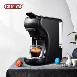 HiBREW expresso кофе машина капсула Эспрессо машина, Капсульная Кофеварка Dolce gusto nespresso порошок несколько капсул