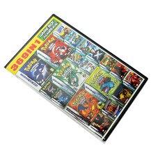 Pokemon-cartucho de recopilación de videojuegos Super 369 en 1, Tarjeta para consola Nintendo GBA, idioma Inglés