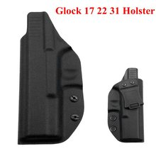 Tactical Kydex IWB Holster for Glock 17 22 31 Gun Inside The Waistband Concealed Carry Case Belt