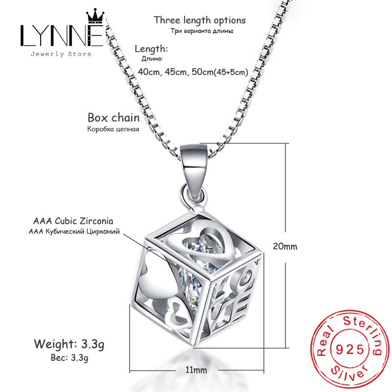 N//Y Silver Necklace Fashion 925 Sterling Silver rotatable Round Pendant Necklace and Necklace Elegant Rhinestone Necklace Ladies Jewelry Gift