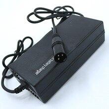 100-240VAC 48 В(54,6 в) DC 2.0A литиевый/LiPo зарядное устройство/зарядное устройство E-Bike для 13S 48V 12Ah Lipo аккумулятор
