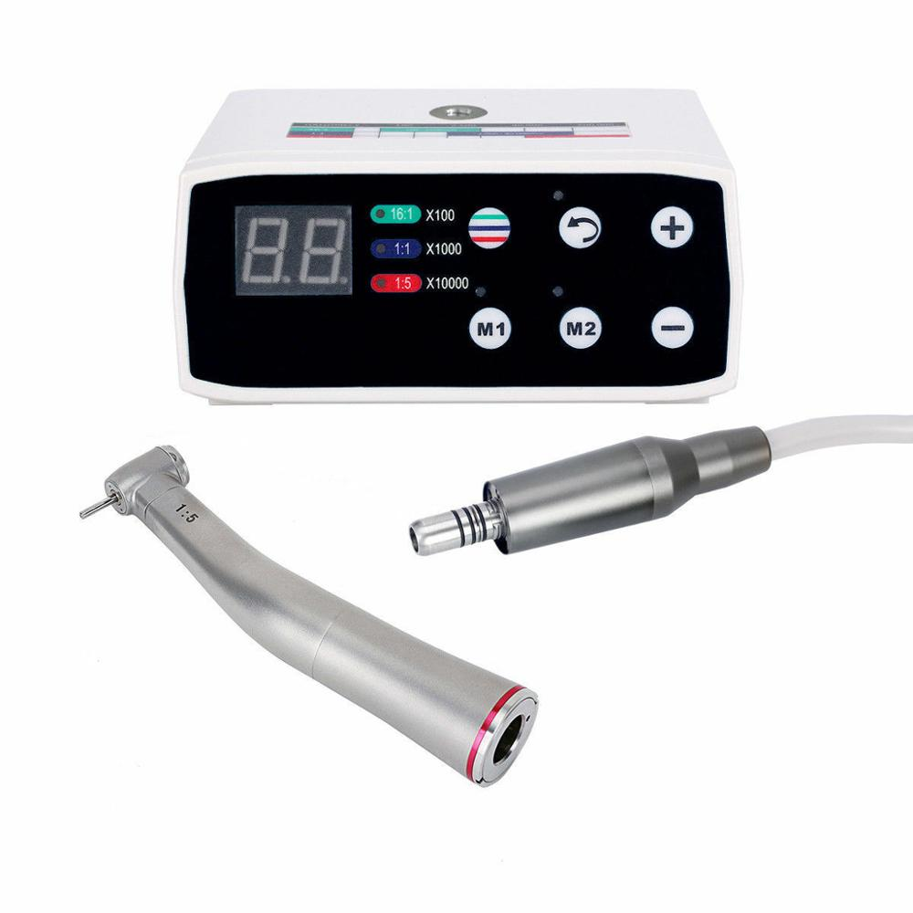 NSK Style Dental Brushless LED Electric Micro Motor 1:5 Increasing Handpiece NEW