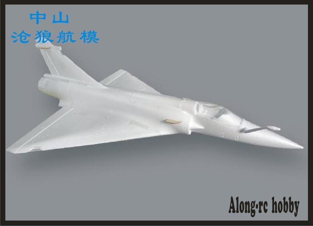 Avion RC EPO 90mm, mousse de Jet EDF, Mirage 2000, kit (KIT uniquement de mousse/pas de télécommande) 3