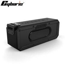 Cyboris altavoz Subwoofer portátil resistente al agua, 40W, con Bluetooth, NFC, TWS, graves, DSP, compatible con micrófono, TF/Aux, no Tronsmart
