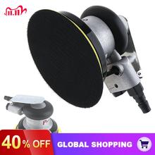 5 Inch Non vacuum Matte Surface Circular Pneumatic Sandpaper Random Orbital Air Sander Polished Grinding Machine Hand Tools