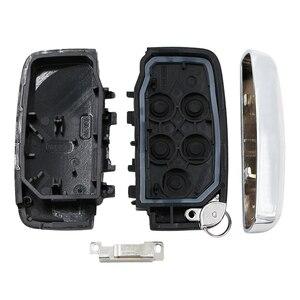 Image 2 - Hohe qualität Neue 5 Taste Smart Remote Key Shell Fall Fob für JAGUAR XJ XJL XF