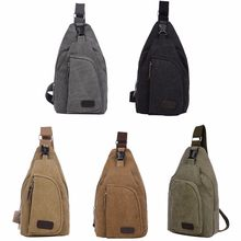 Outdoor Military Shoulder Bag Men Women Sport Canvas Messenger Bags Travel Hiking Bag(China)