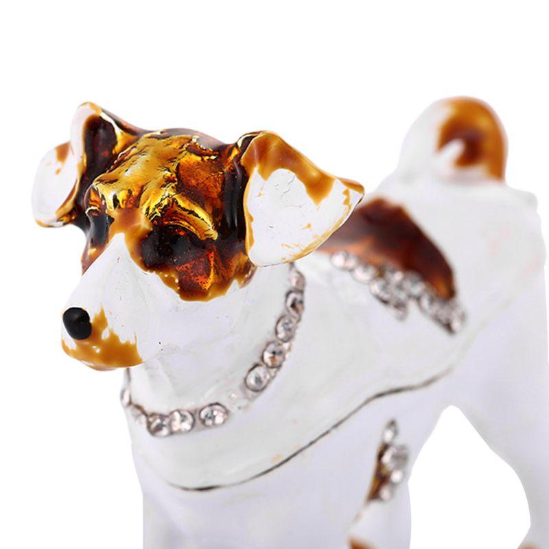 Dog Trinket Box Jewelry Organizer Jewelry Vintage StyleTrinket Box